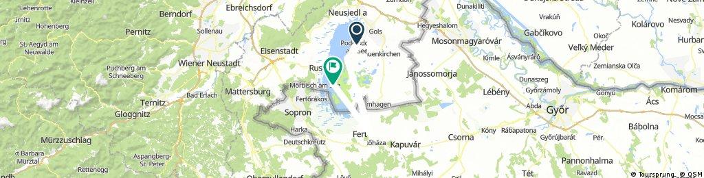 Von Podersdorf nach Illmitz-Strandbad