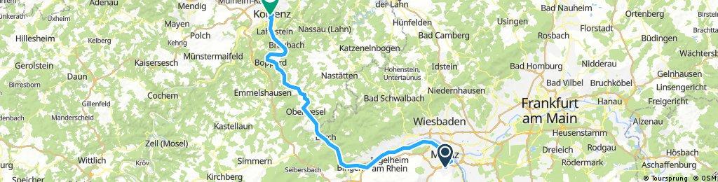Mainz-Koblenz-102km-Komoot