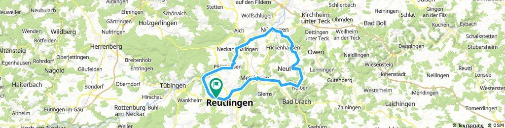 Hohen Neuffen - Nürtingen - Neckartal