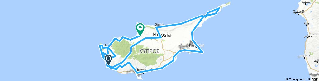 Cycle Cyprus Project 2018