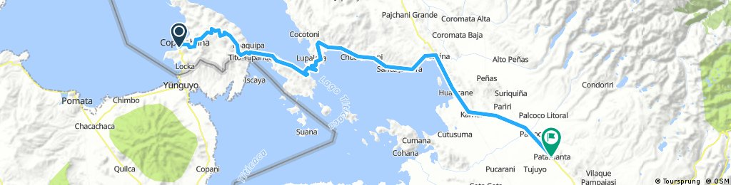 Long bike tour from 9 août 07:34