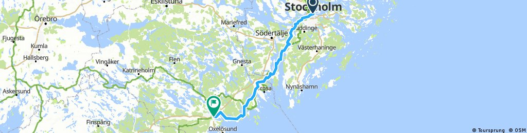 Stockholm to Nyköping