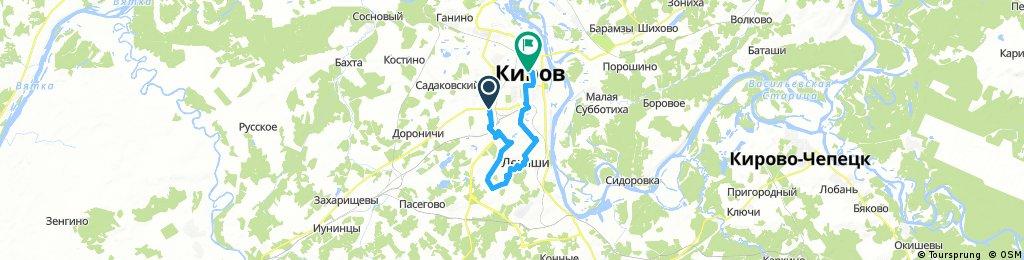 ride through Kirov
