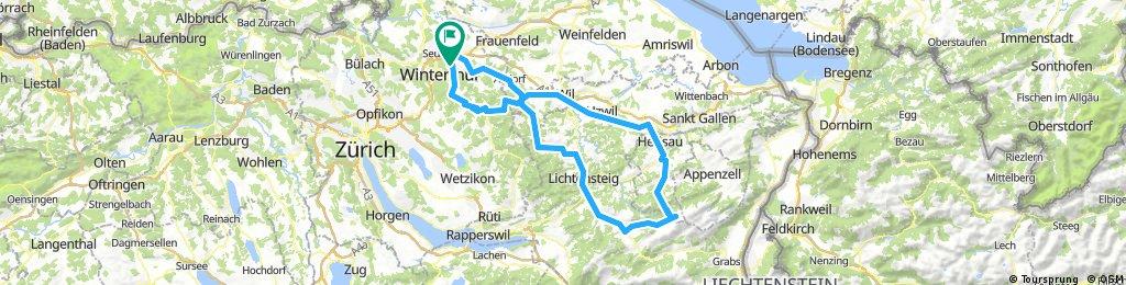 Winterthur - Schwägalp