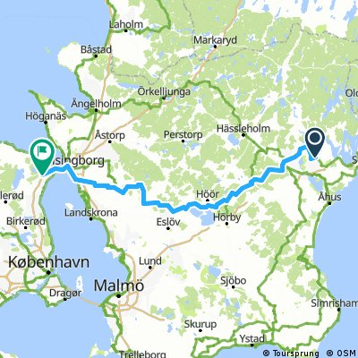 Balsby to Helsingborg to Nyrup Hegn, Denmark