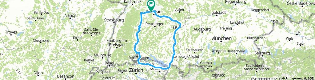 CH 100: Stuttgart-Nordschweiz-Runde