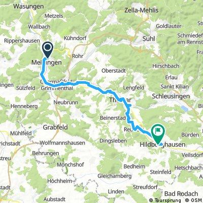 Meiningen - Veßra - Hildburghausen