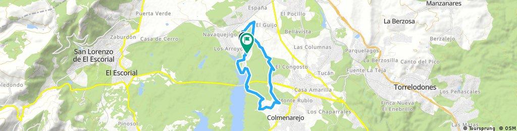 Puerta Verde y Ermita Colmenarejo