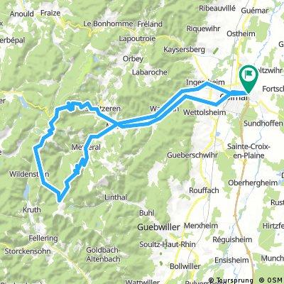 Colmar Col de la Schlucht