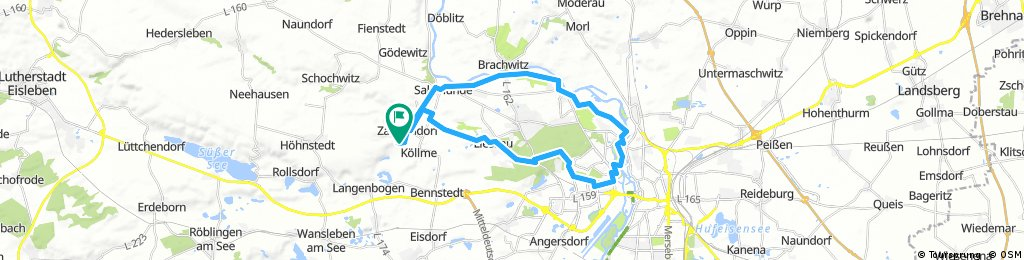 Zappendorf-Halle-Lieskau-Zappendorf