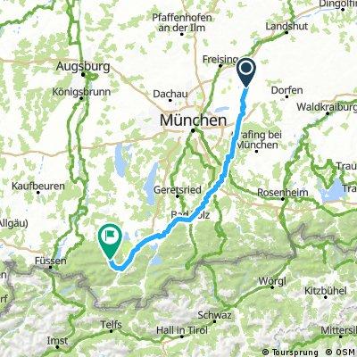 Erding- Oberammergau