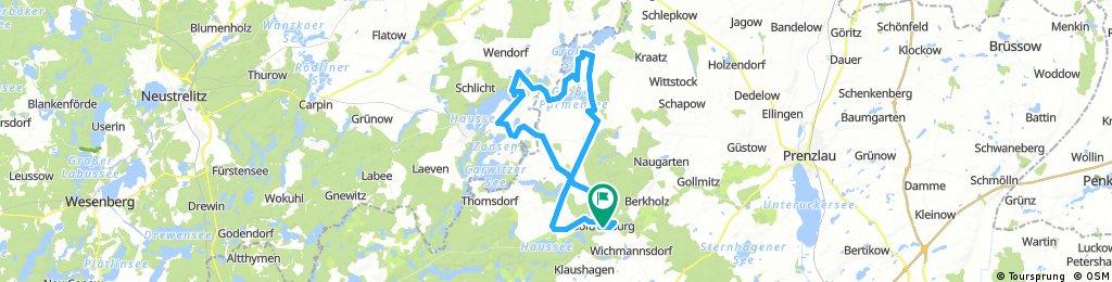 Spur der Steine Teil 2 von Boitzenburg nach Fürstenwerder