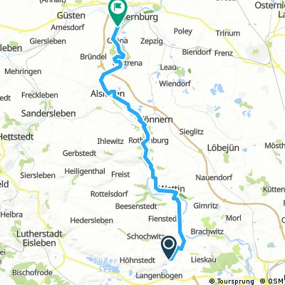 Saaletour4, Zappendorf-Bernburg