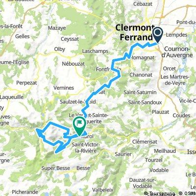 Clermont Chambon 90 Km