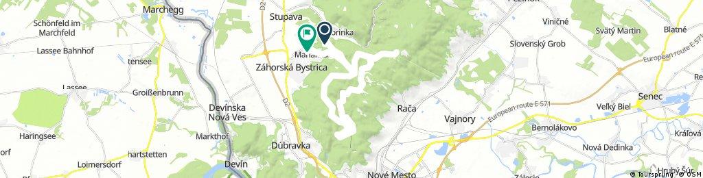 Lengthy ride through Marianka