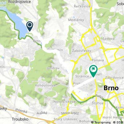 Quick bike tour through Brno