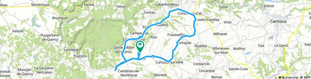 Le Verdier to Cordes-sur-Ciel