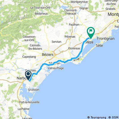 France 2017 - Day 5 - Narbonne to Loupian