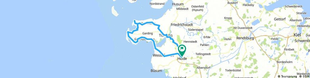 107km_Heide-St.Peter-Westerhever