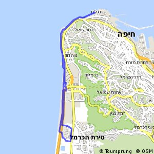 Cycling routes and bike maps in and around Haifa Bikemap Your