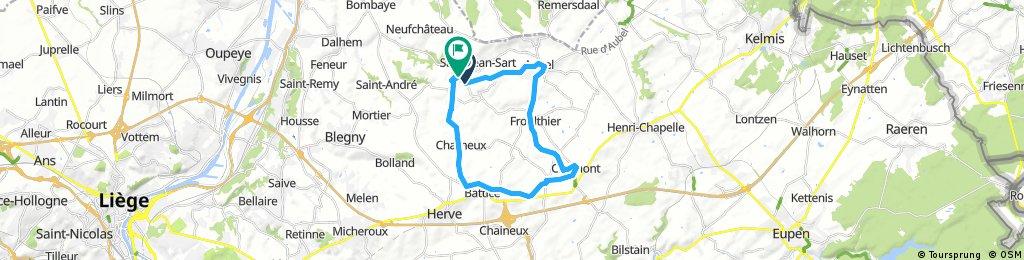 La Bushaye - Ligne 38 - Val-Dieu