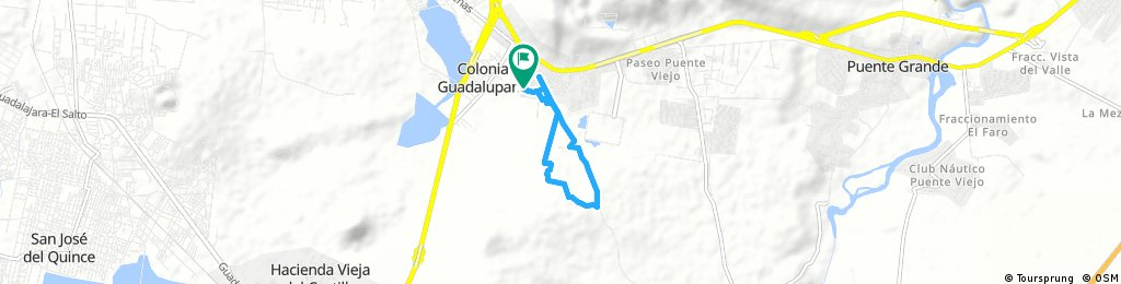 Brief ride from 12 de agosto 8:50 AM