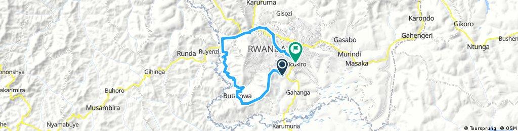 Lengthy ride through Gahanga