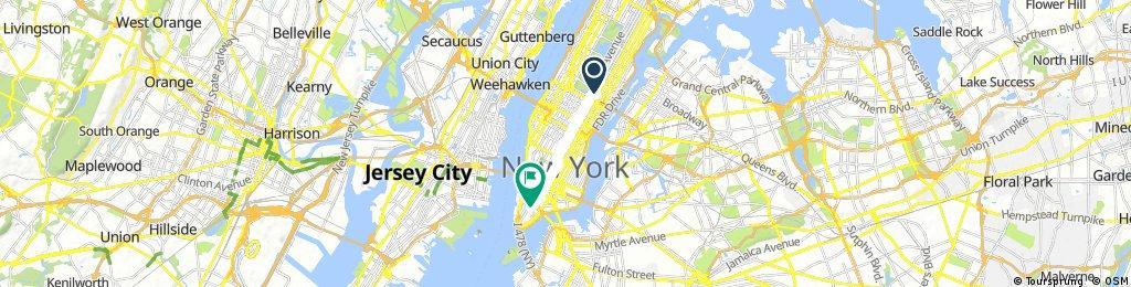Short bike tour through New York