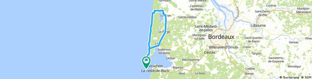 Cap Ferret - Lacanau A/R