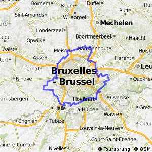 Cycling routes and bike maps in and around Meise Bikemap Your