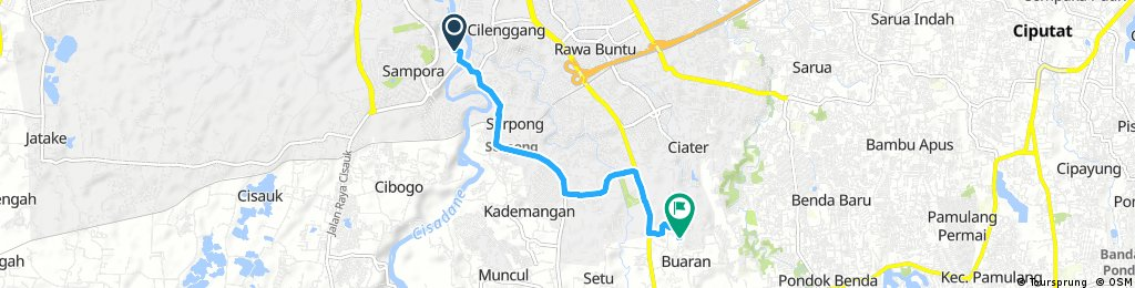 Quick ride through Pagedangan