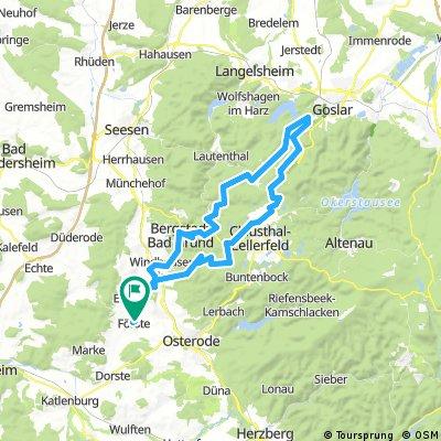 Steinbergalm Route