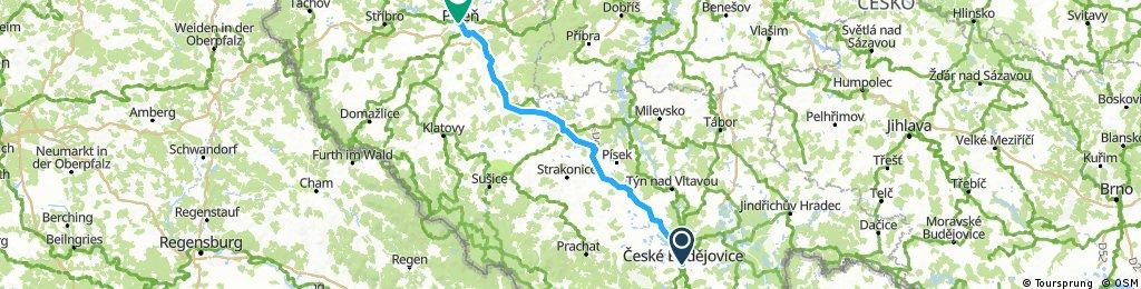 Budweis-Pilsen Etappe 2