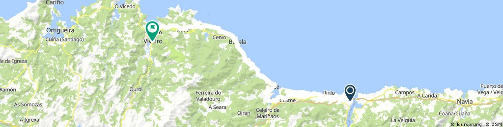 Pt 1 Ribadeo to Viveiro