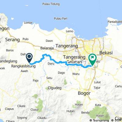 Bike to home (Rangkasbitung - Cibubur)
