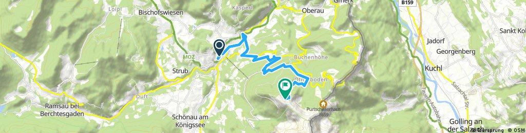 Etap 1 ( odcinek specialny )Berchtesgaden - Kehlsteinhaus