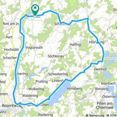 Amerang-Rosenheim-Simssee-Runde