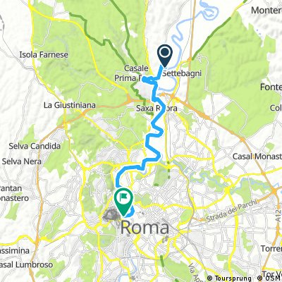 Camping Tiber to Vatican