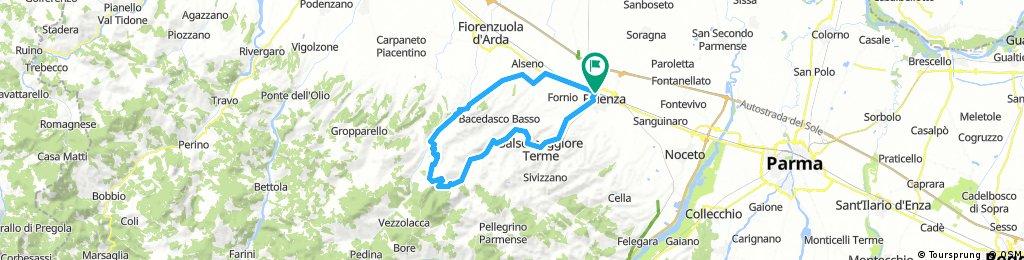 Fidenza-Salsomaggiore-Vernasca-Castell'Arquato