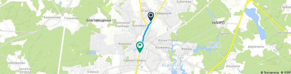 Quick ride through Сергиев Посад