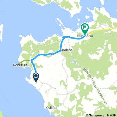 ride from Ridala to Uuemõisa