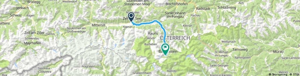 Etap 3 - Zell am See - Bad Gastein
