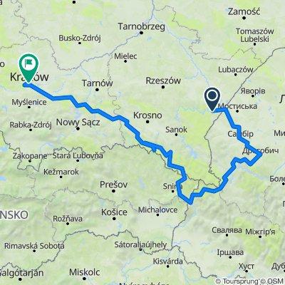 Sommer 2017 Radtour durch Galizien
