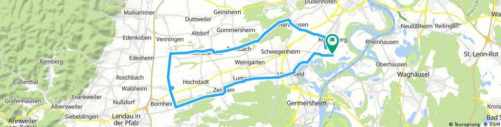 Römerberg nach Essingen Rundfahrt