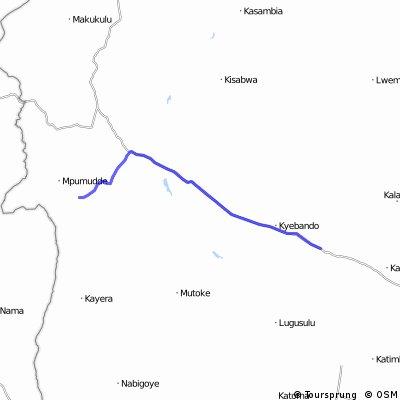 Uganda-Ruanda Etappe 4 (Sembaboule-Nabitanga)