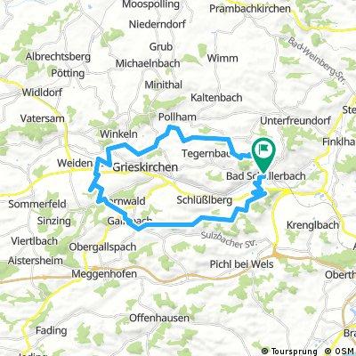 Bad schallerbach - Tollet -Gallsbach