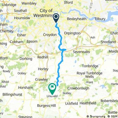 London to Hayward Heath