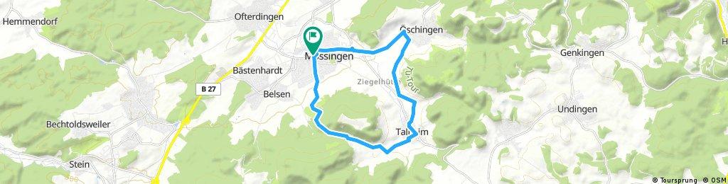 Ausfahrt durch Mössingen