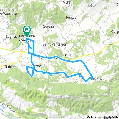 Cabrières-d'Avignon bike tour