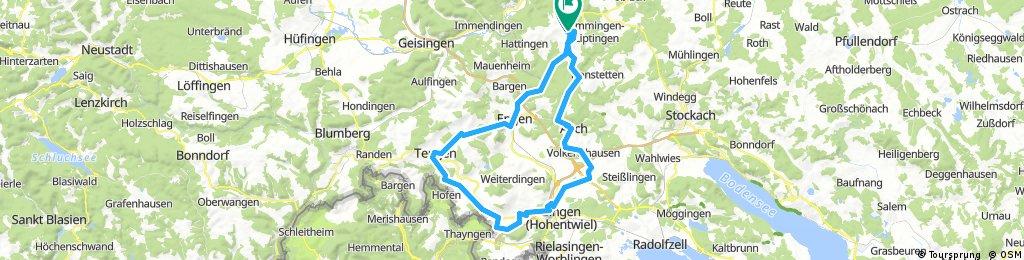 Grosse Hegau-Tour 14.8.2017